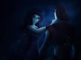Sinbad and Eris by iCookieday
