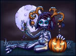 Halloween Colouring Contest 2015 by SLAPunque