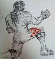 Undertaker Kneeling Finished by itamar050
