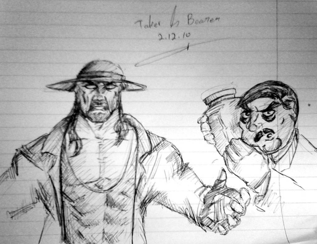 Taker and Bearer by itamar050