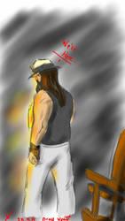 Bray Wyatt sketch 28.9.14 by itamar050