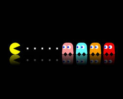 Pac-Man by boding-bunny
