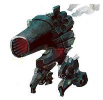 A Big Cannon by Seyanni