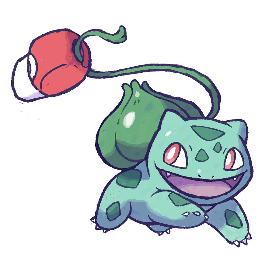 001 Bulbasaur by Seyanni