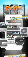 Retiner - mobile UI kit by stefusilviu