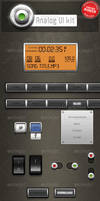 Analog UI kit by stefusilviu
