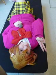 Natsuki female cosplay by Juuka-chan