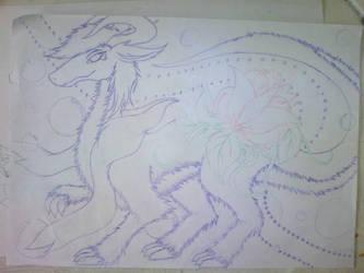 W-I-P Dragon Flaurei by Kerorowong