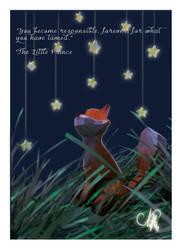 Little Prince Lowpoly Fanart by NataliaSolisA