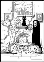 Miyazaki Halloween by seanplenahan