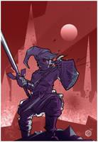 Dark Link by seanplenahan