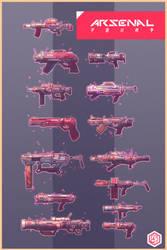 guns weapons by seanplenahan