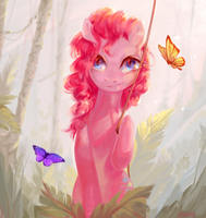 The third butterfly by utauYan