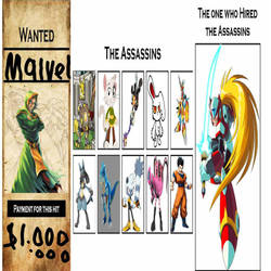 wanted: Malvel by Starwolf08