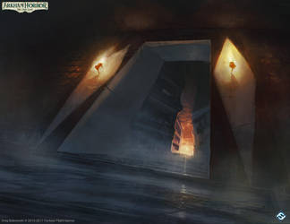 The Gate to Hell by N-Y-O