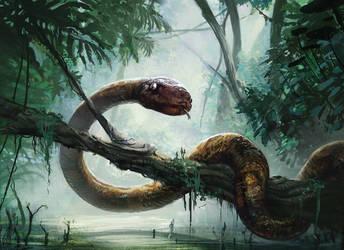 AHC Boa Constrictor by N-Y-O