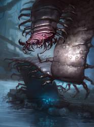 Giant Centipede by N-Y-O
