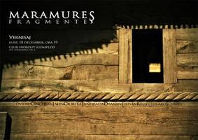 Afis Expozitie Maramures by Timisoara