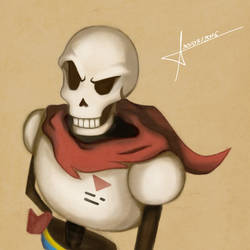 Papyrus by DamnFate