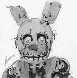 Springtrap by DamnFate