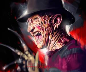 Freddy Krueger by KevinMonje