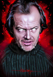 Jack Torrance by KevinMonje