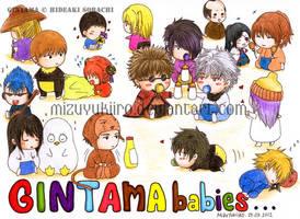 Gintama_babies by MizuYuKiiro