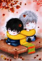 Gintama_GinHiji_Autumn by MizuYuKiiro