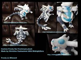 Frosty the Frostwrym by MidnightZero