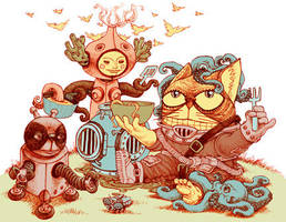 Badcat's Seafood Haven by bawayan