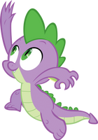 Spike by RyantheBrony