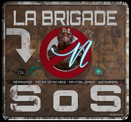 La Brigade SoS by posei