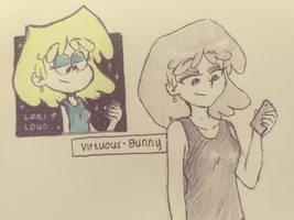 TLH: Lori Loud by Virtuous-Bunny