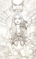 Daenerys Targaryen ,  Khaleesi by justbuzz