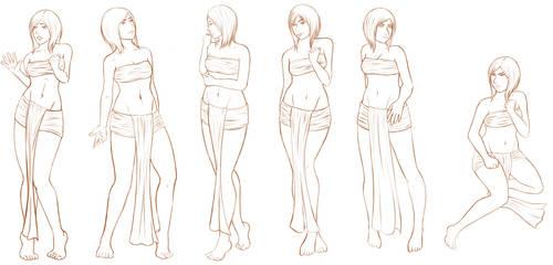 Body Language/Poses and Facial Expressions by Senraa