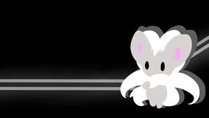 . Pokemon Wallpaper . Cinccino . by Flows-Backgrounds