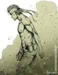 Solid Snake Poster by Zyephens-Insanity
