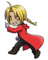 Edward Elric by Zyephens-Insanity