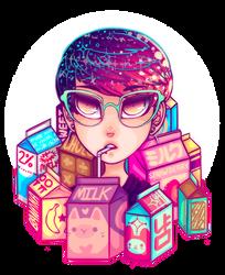 MILK CARTONS by L4NI