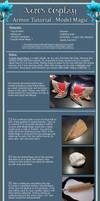 TUTORIAL: Armor using Crayola Model Magic by Xero-Cosplay