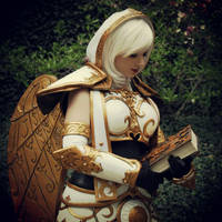 Benedron with her Tome by Xero-Cosplay