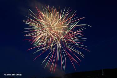 Fireworks II by friedapi