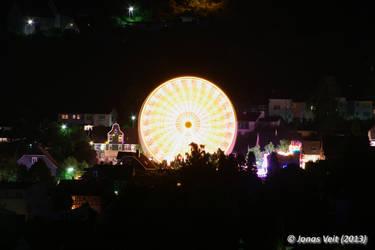Ferris Wheel II by friedapi