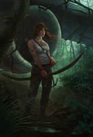 Tomb Raider Reborn Contest by KlausPillon