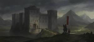 Castle Concept by KlausPillon