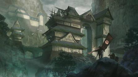 Hidden Fortress by KlausPillon