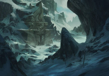 Evil Monastery by KlausPillon