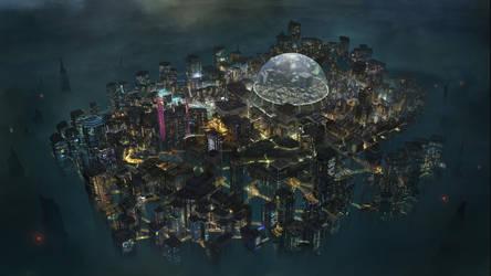 Echo Tokyo Game map by KlausPillon