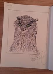 Owl (2018) by basgroll