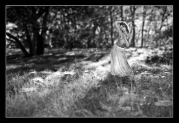 White skirt by MissNathalya